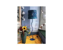 ROUND SHADE 18 INCH  WITH CURVED STAND 48 INCH b